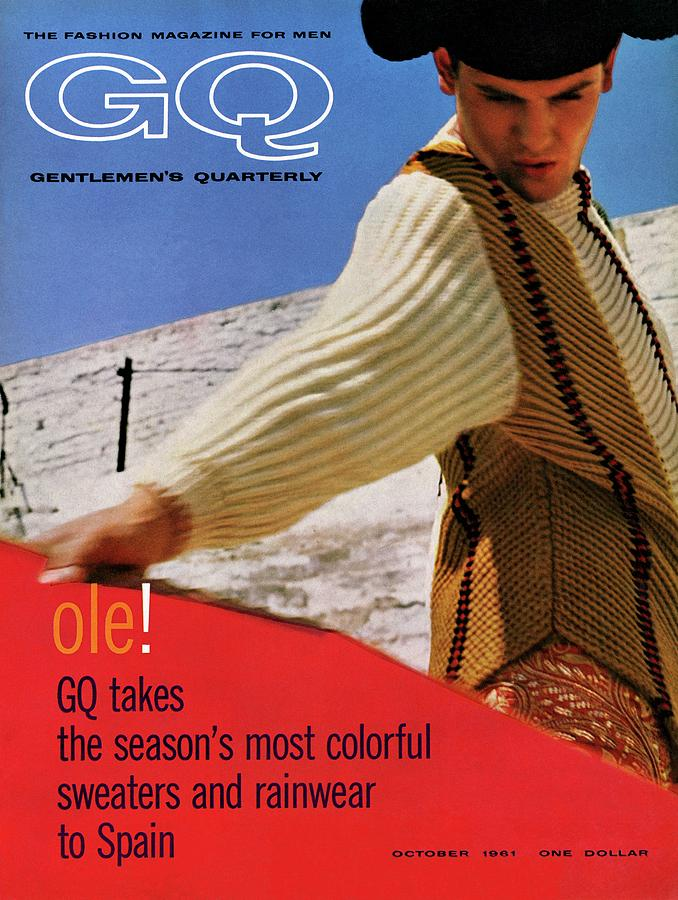 Gq Cover Of Spanish Matador Photograph by Chadwick Hall