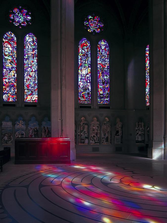 Grace Cathedral Walking Labyrinth - San Francisco