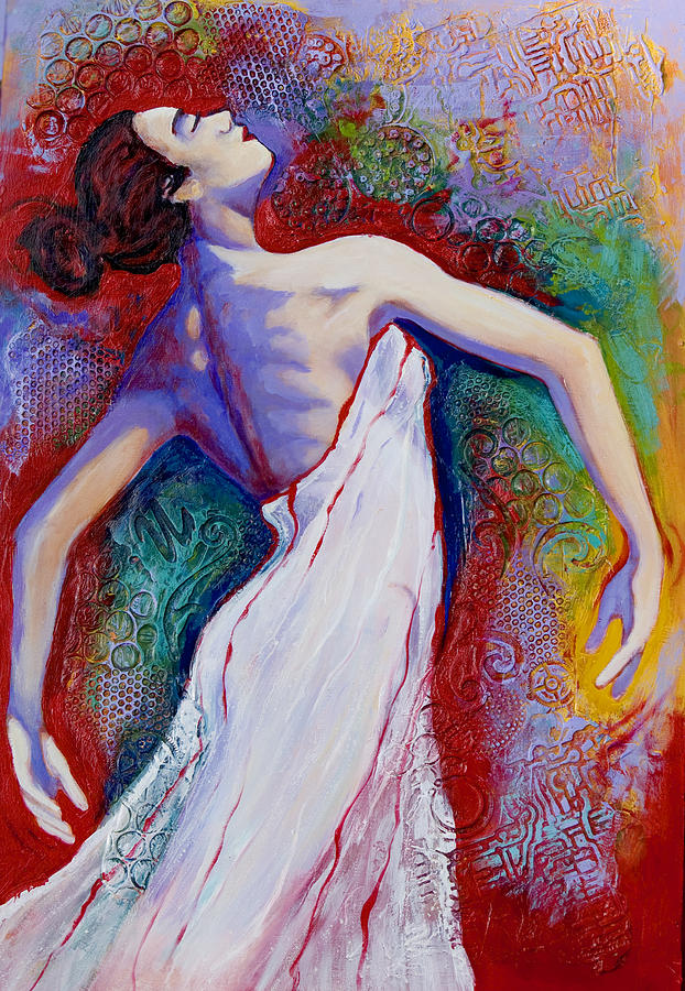 Dancer Painting - Grace by Claudia Fuenzalida Johns