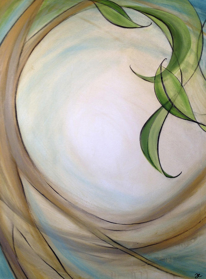 Art Painting - Grace In Trust  by Anna Elkins