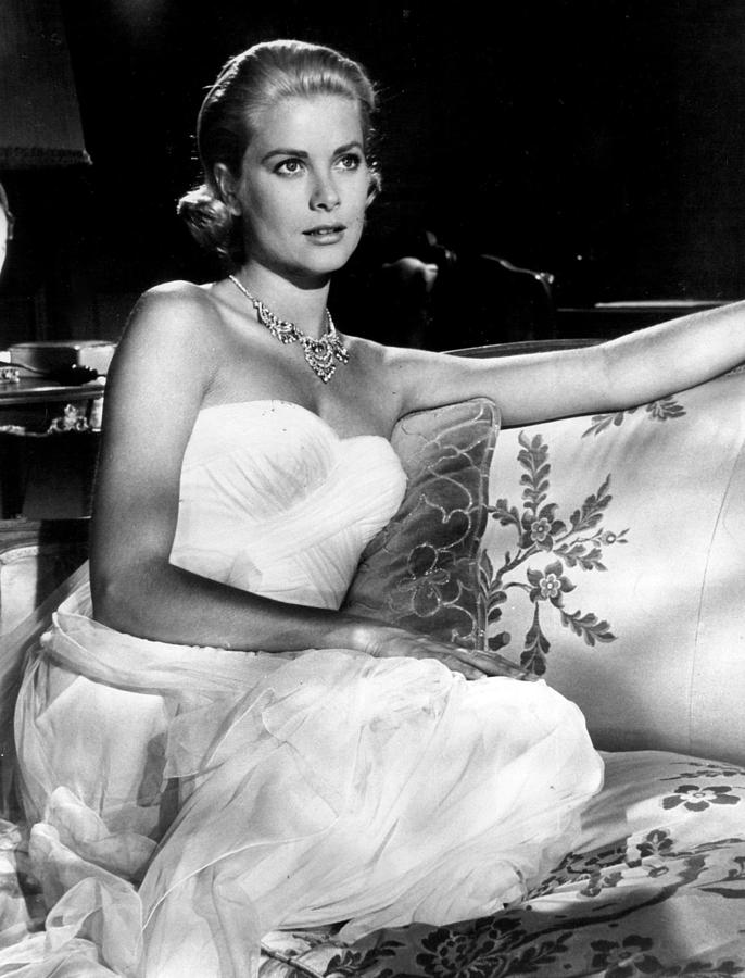 Retro Images Archive Photograph - Grace Kelly Looking Gorgeous by Retro Images Archive