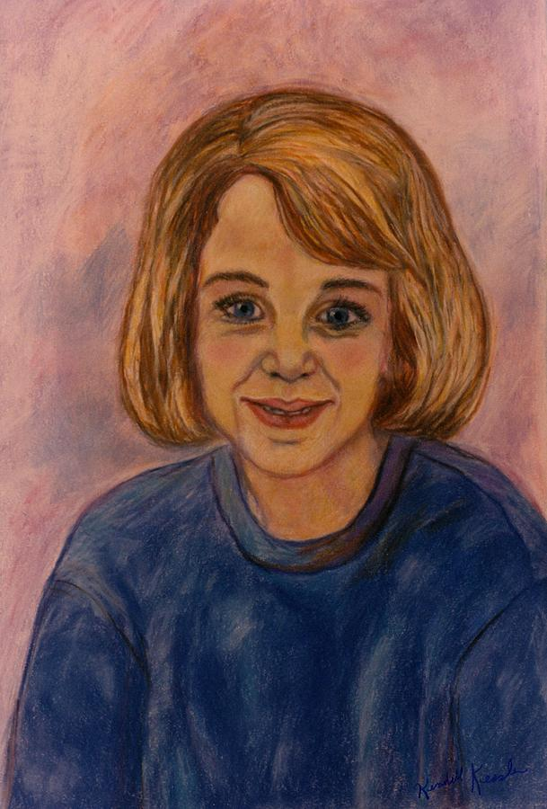 Kendall Kessler Painting - Grace Mahin by Kendall Kessler