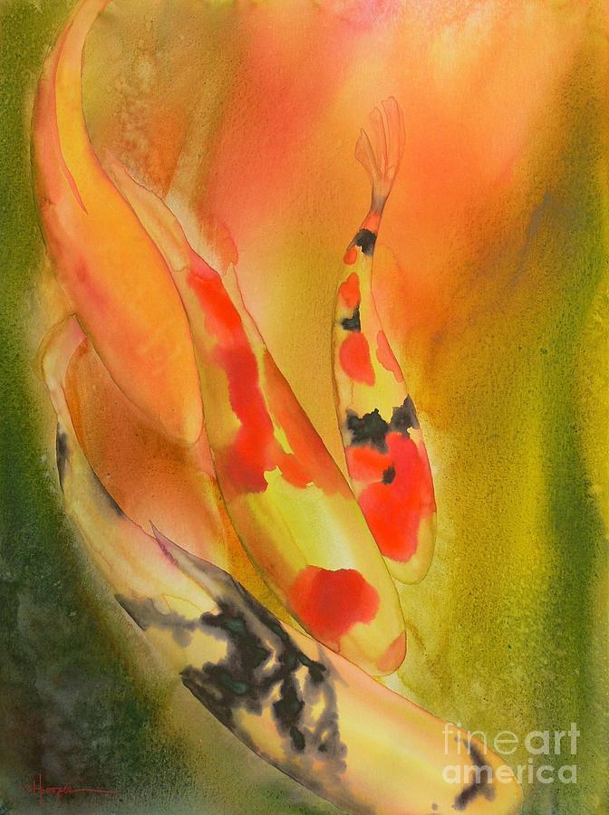 Watercolor Painting - Grace by Robert Hooper