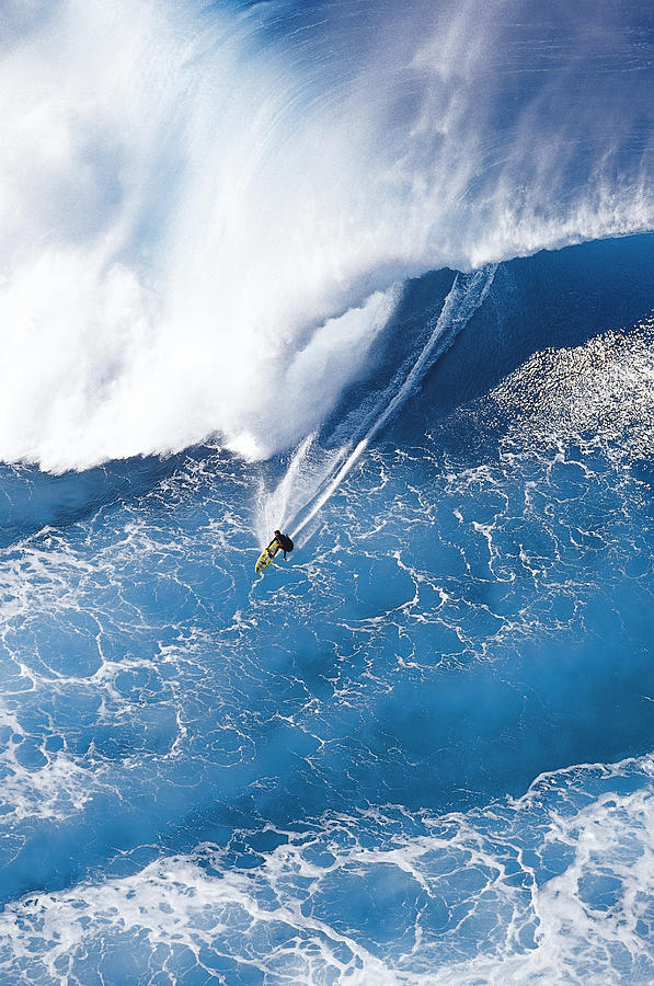 Big Wave Surfing Photograph - Grace Under Pressure by Sean Davey