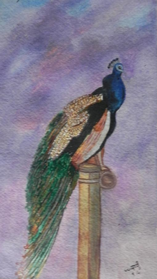 Watercolor Painting - Graceful by Usha Rai