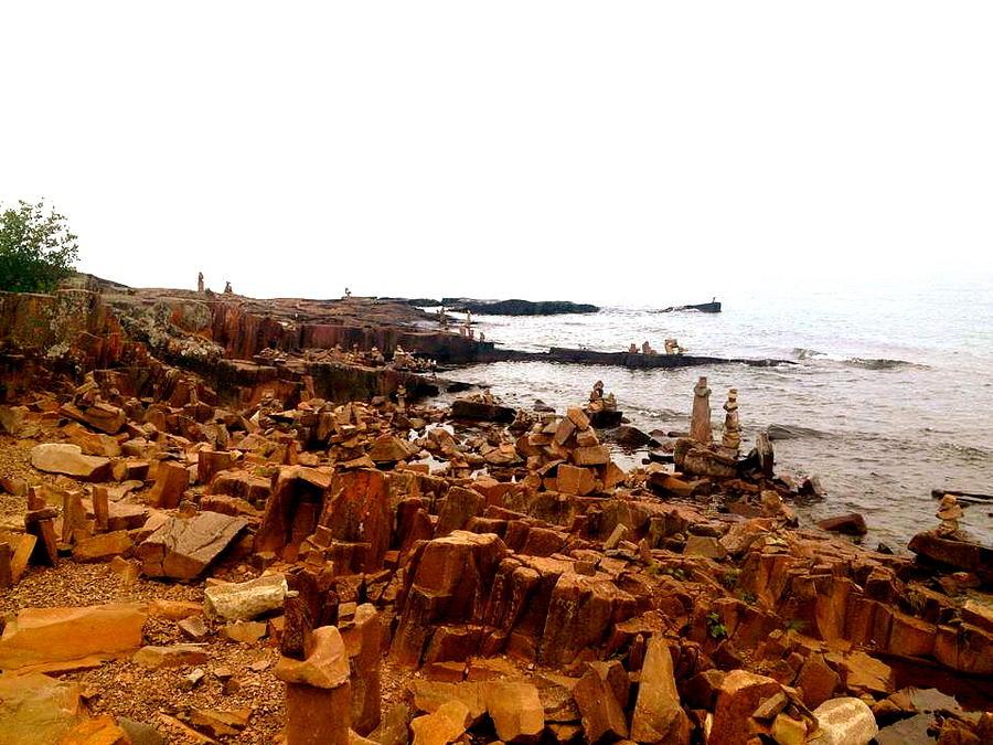 Cliffside Photograph - Gracious Grand Marais by Danielle  Broussard
