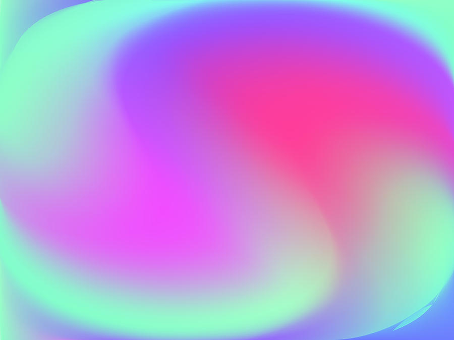 Gradient Mesh Abstract Background Blurred Bright Colors Colorful Rainbow Pattern Multicolored Fluid Shapes