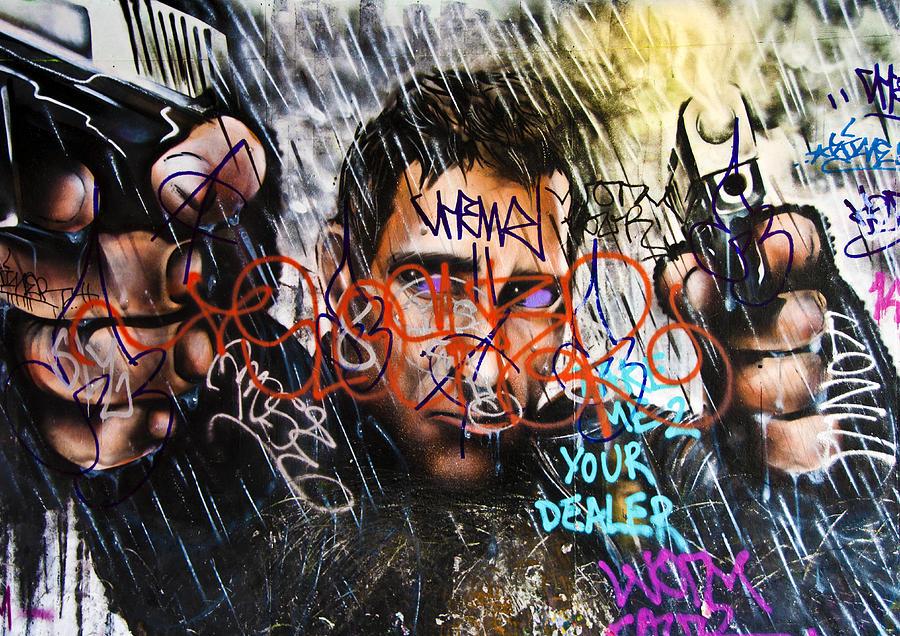 Public Photograph - Graffiti 03 by Svetlana Sewell