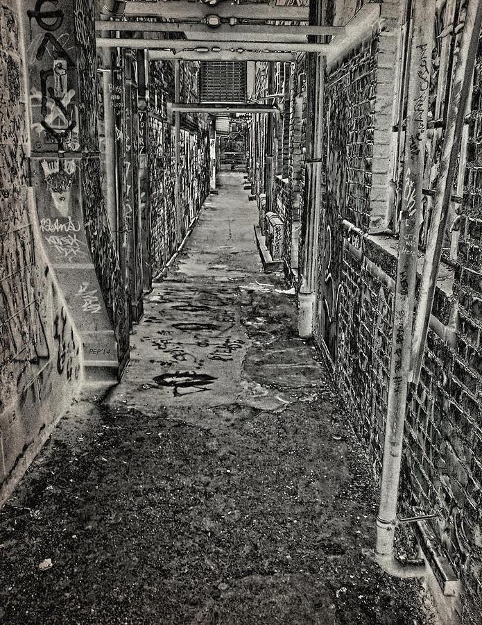 Graffiti Photograph - Graffiti Alley by Phil Perkins
