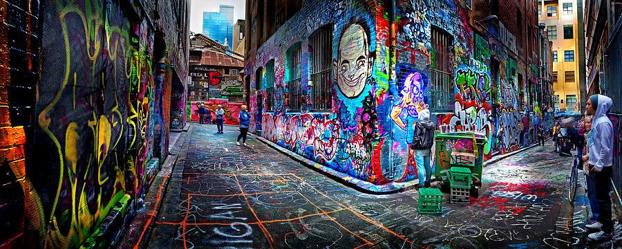 Graffiti Artist Photograph