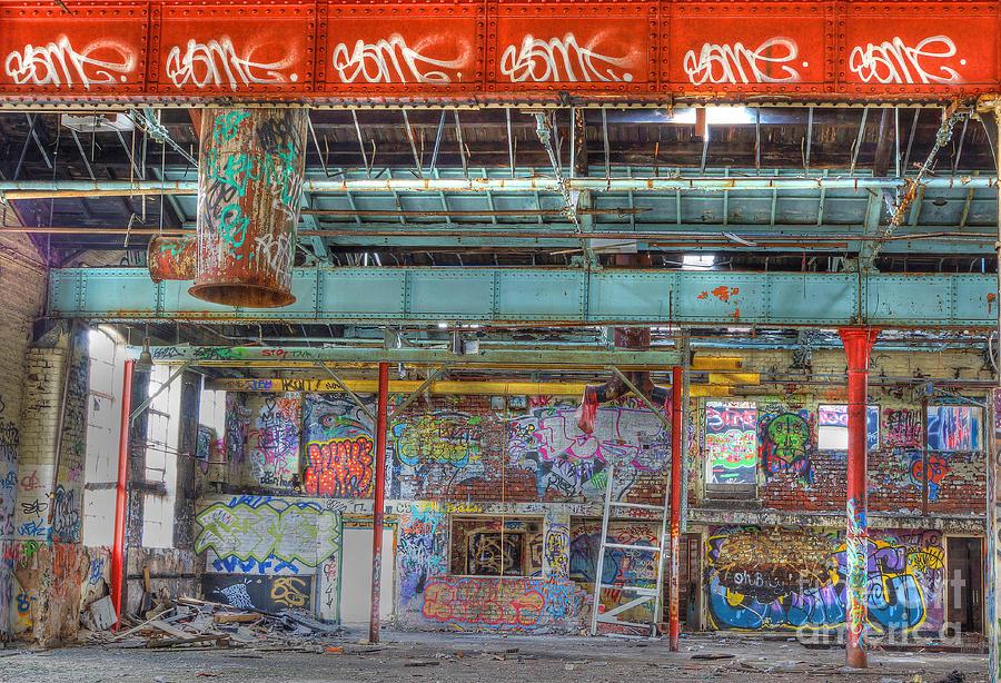 Urban Photograph - Graffiti Gallery by David Birchall