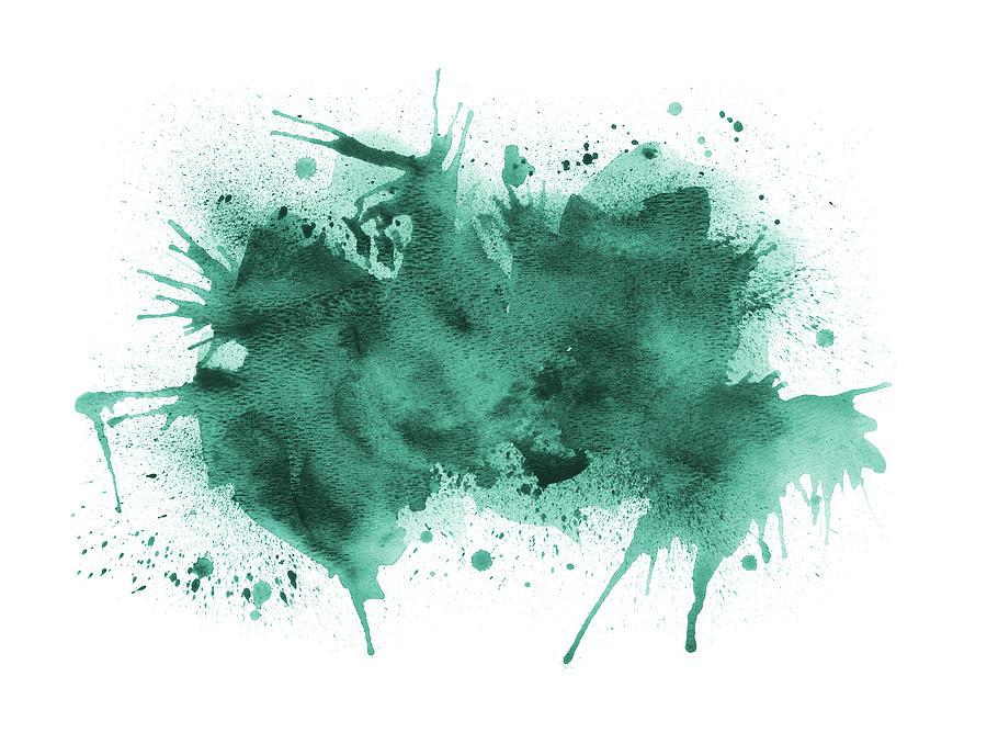 Graffiti Paint Background On White Digital Art by Creative improv