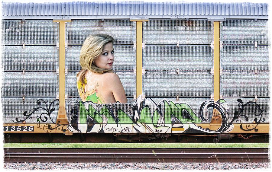 Graffiti Photograph - Graffiti - Tinkerbell by Graffiti Girl