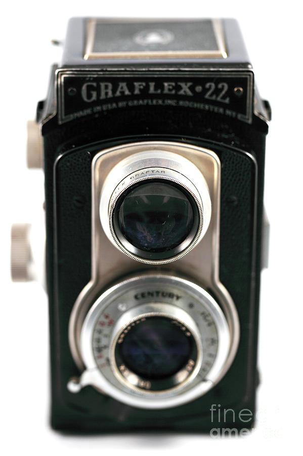 Still Life Photograph - Graflex 22 Full View by John Rizzuto