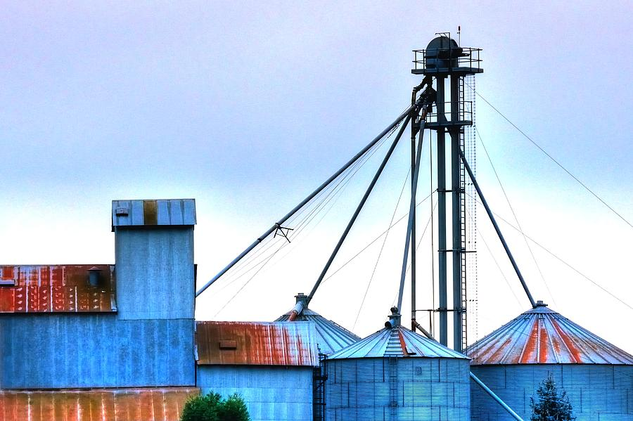 Grain Elevator 20618 2 Photograph