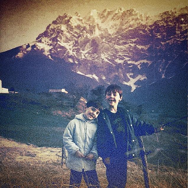 Boys Photograph - Gran Sasso by Beth Williams