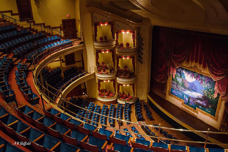 Grand 1894 Opera House Galveston Photograph By Allen