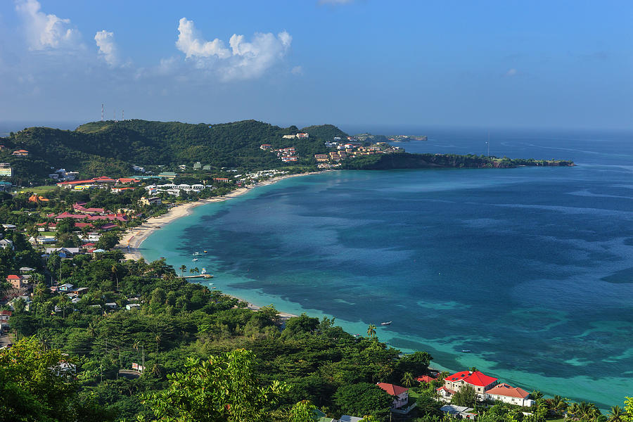 Grand Anse Bay, Grenada Photograph by Flavio Vallenari
