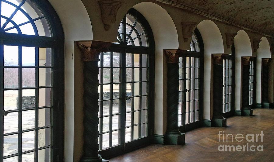 Windows Photograph - Grand Ballroom  by Guy Harnett