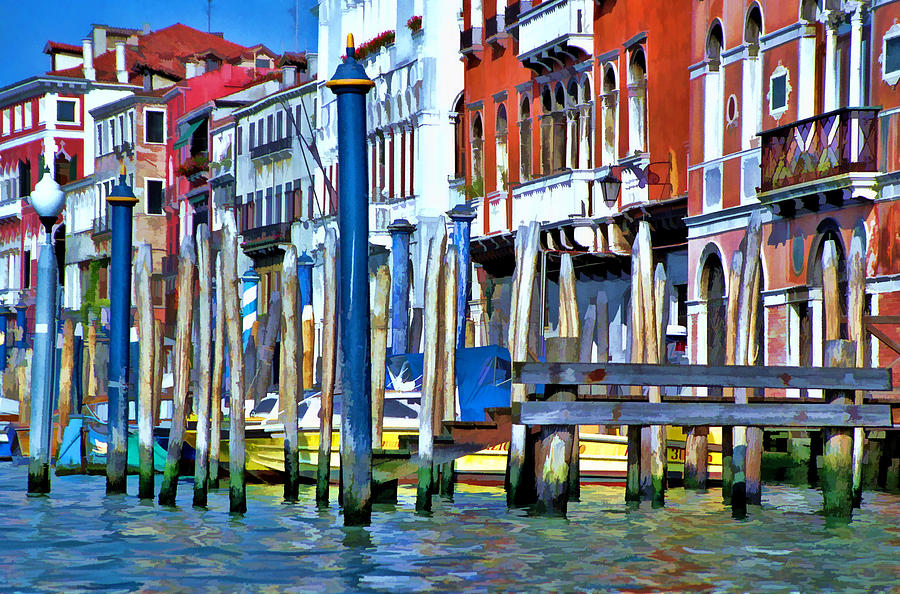 Grand Canal - Venice Photograph