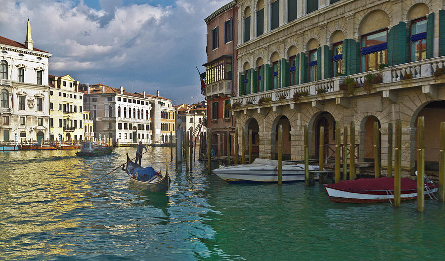 Grand Canal Photograph by Any Photo 4u