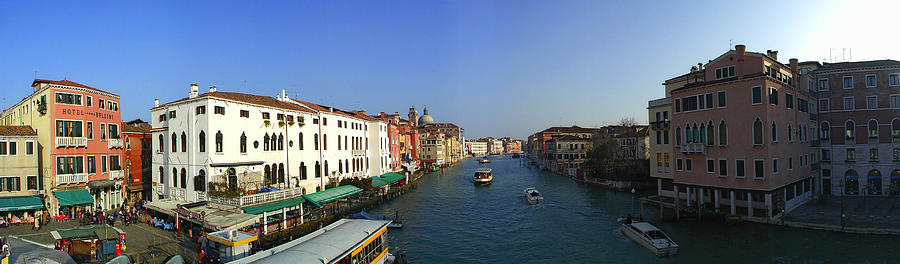 Grand Canal Photograph by Gary Lobdell