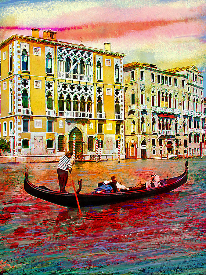 Venice Photograph - Grand Canal by Steven Boone