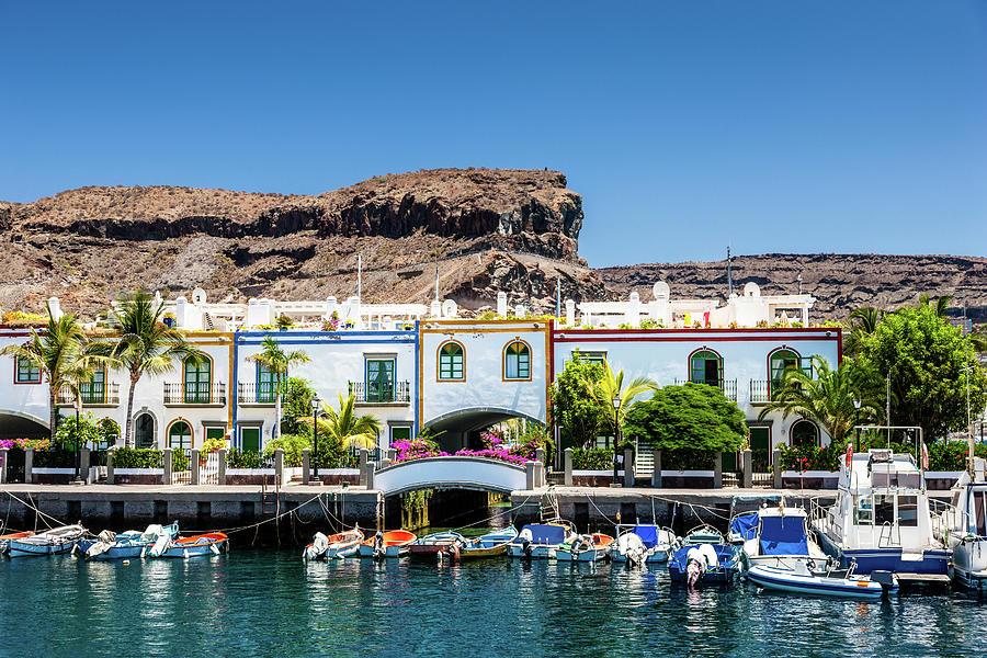 Grand Canary Puerto De Mogan Photograph by Mlenny