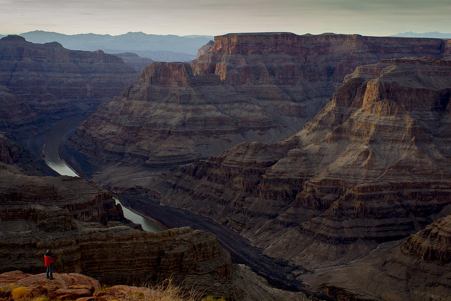 Grand Canyon Photograph - Grand Canyon And Colorado River by Andrew Pacheco