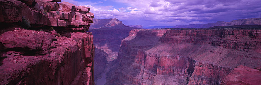 Color Image Photograph - Grand Canyon, Arizona, Usa by Panoramic Images