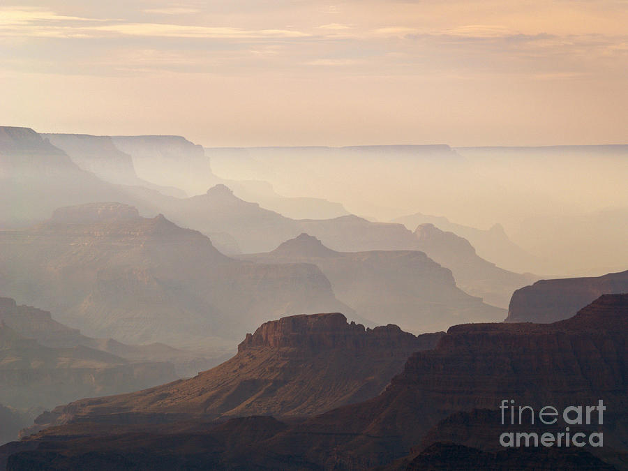 Landscape Photograph - Grand Canyon From Lipan Point by Alex Cassels
