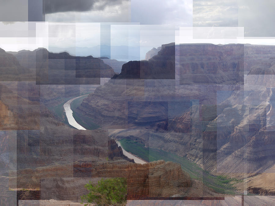 Grand Canyon Photograph - Grand Canyon Guano Point by Stephen Farley