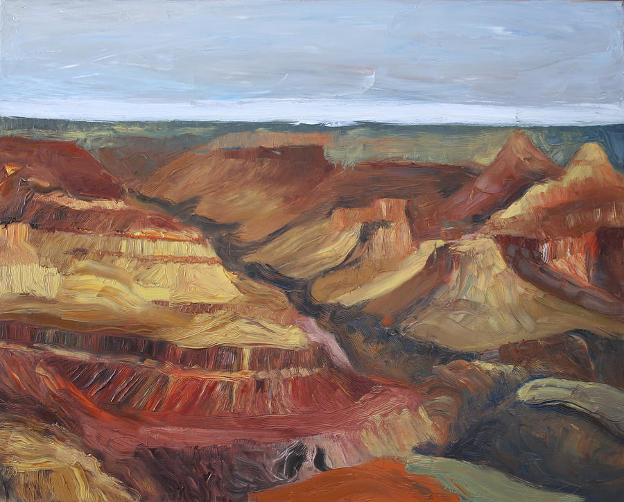 Landscape Painting - Grand Canyon I by Stephen Degan
