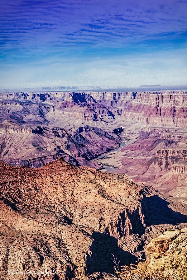 Skylines Photograph - Grand Canyon National Park by LeeAnn McLaneGoetz McLaneGoetzStudioLLCcom