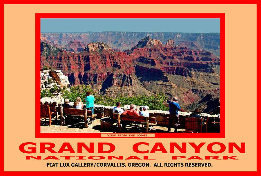 Grand Canyon National Park Photograph - Grand Canyon National Park by Michael Moore