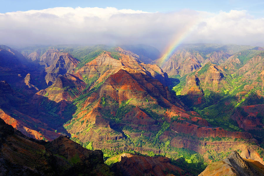 Waimea Canyon Photograph - Grand Canyon Of The Pacific by Kevin Smith