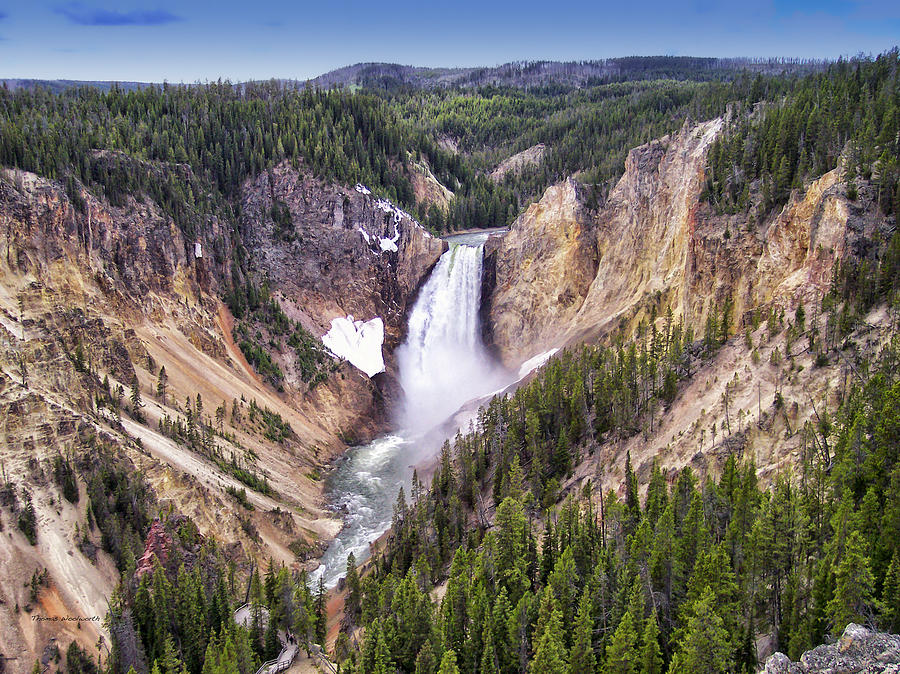 Grand Canyon Of Yellowstone National Park 3 Photograph By