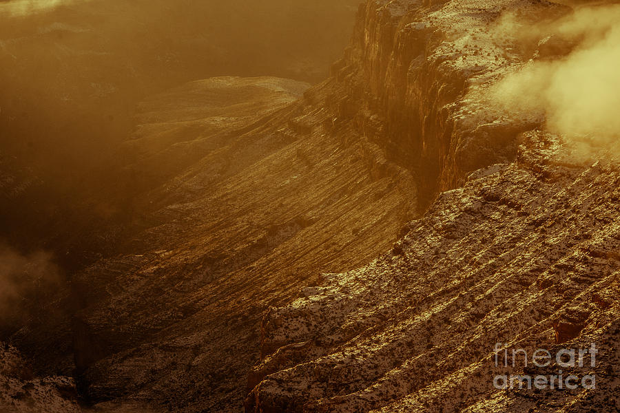 Grand Canyon Sepia Photograph