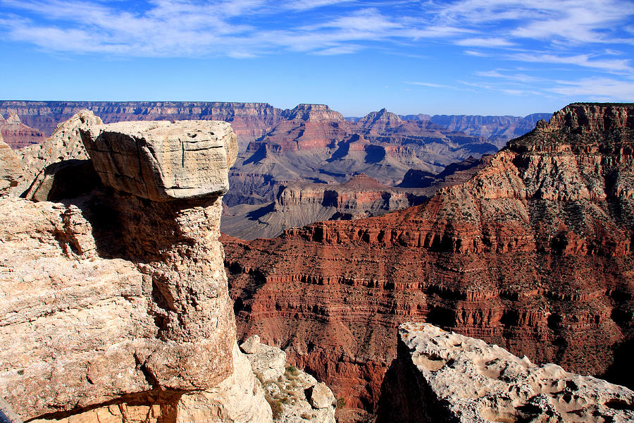 Grand Canyon Photograph - Grand Canyon - South Rim View by Aidan Moran