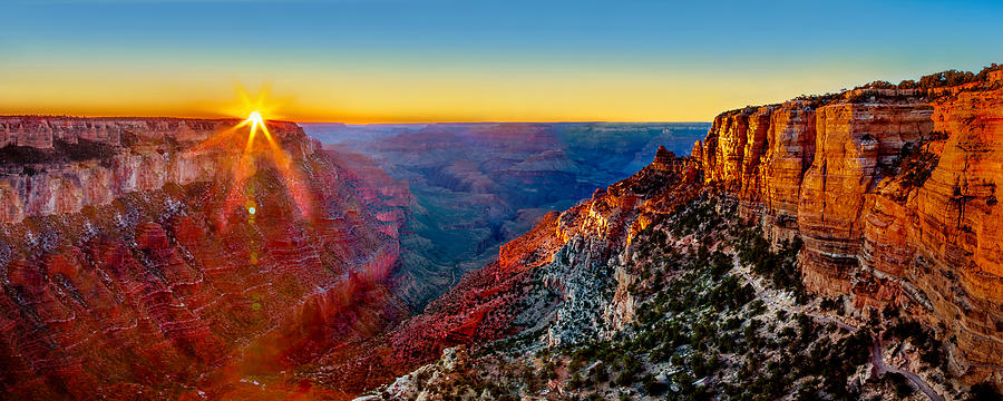 Grand Canyon Sunset by Az Jackson