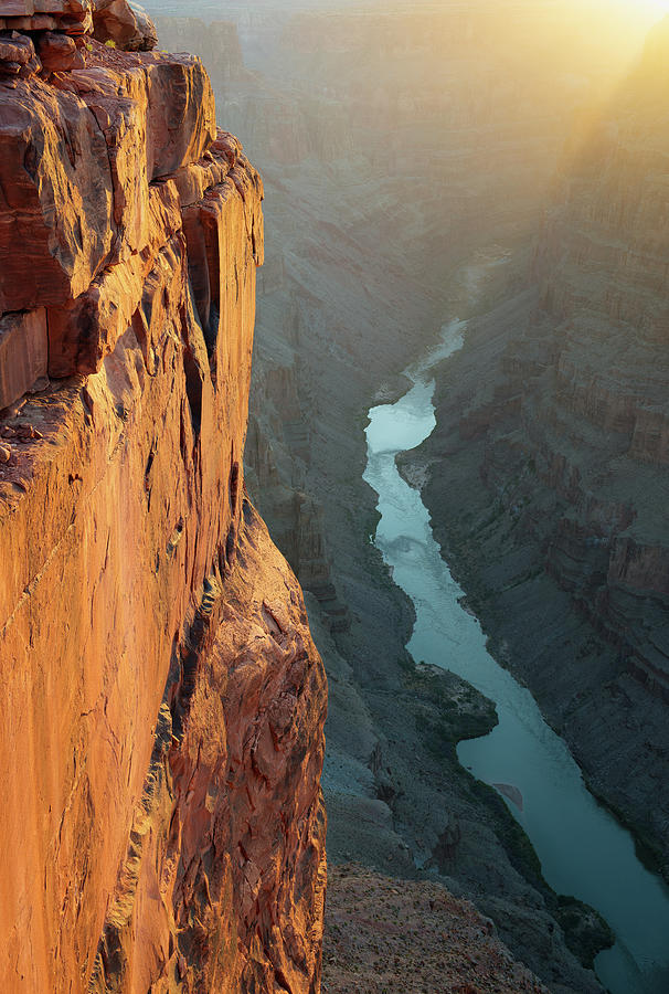 Grand Canyon Toroweap Point Morning Photograph by Kjschoen