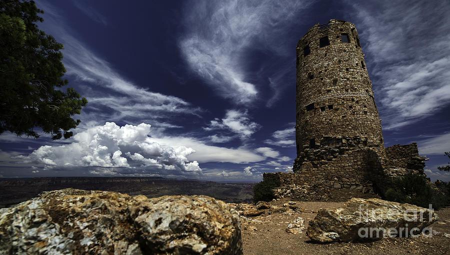 Arizona Photograph - Grand Canyon Tower 1 by Richard Mason