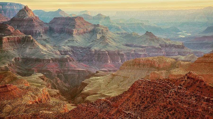 Grand Canyon View Photograph by Kirk Lougheed