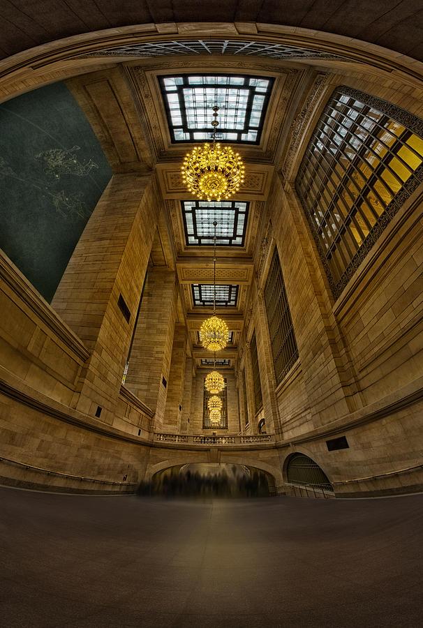 New York City Photograph - Grand Central Corridor by Susan Candelario