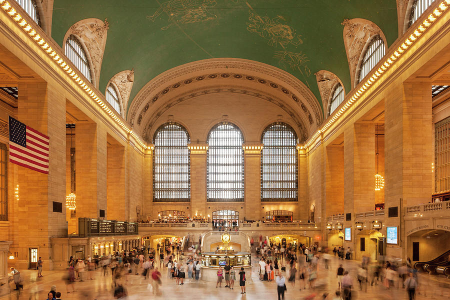 Grand Central Station, 42nd Street, New Photograph by David Clapp
