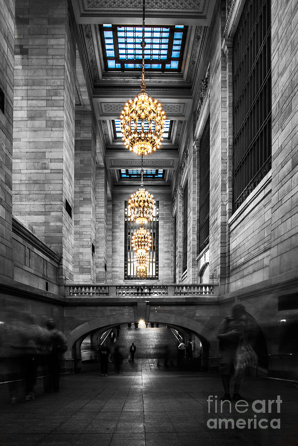 Nyc Photograph - Grand Central Station IIi Ck by Hannes Cmarits