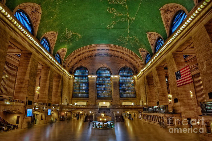 Grand Central Station Photograph - Grand Central Station by Susan Candelario
