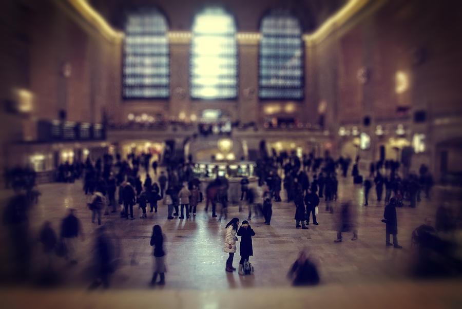Grand Central Station Photograph - Grand Central Tilt by Emmanouil Klimis