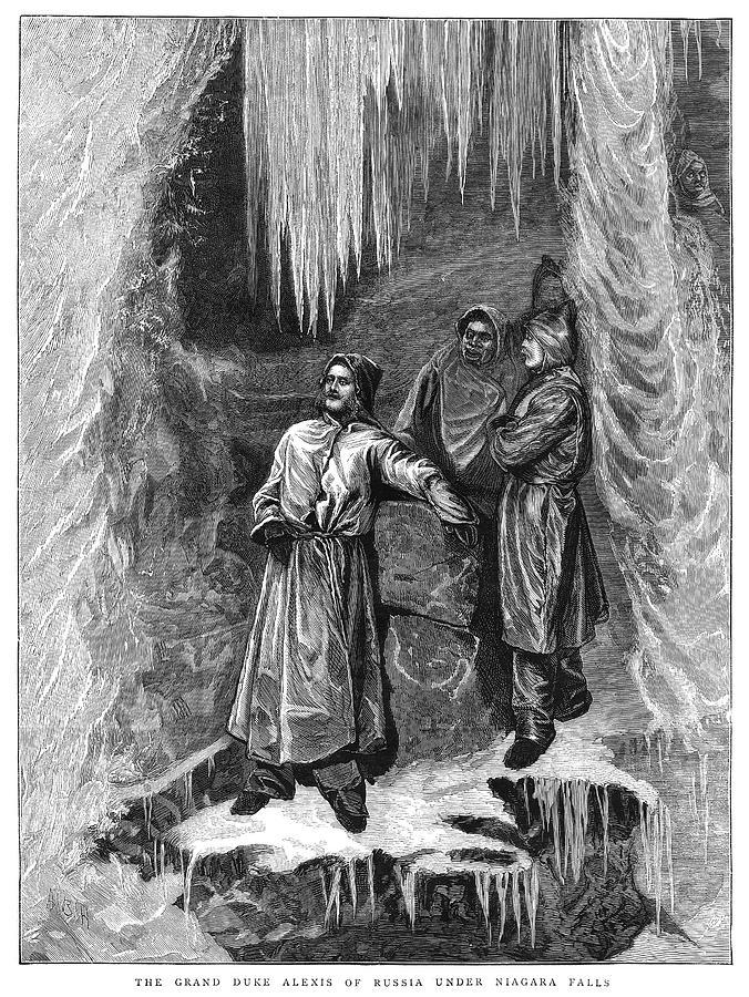 1871 Painting - Grand Duke Alexis (1850-1908) by Granger