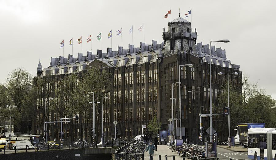 Grand Hotel Amrath Amsterdam Photograph By Teresa Mucha